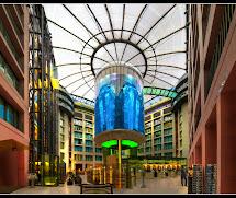 Architecture20 Elevator With Amazing Aquarium In Germany