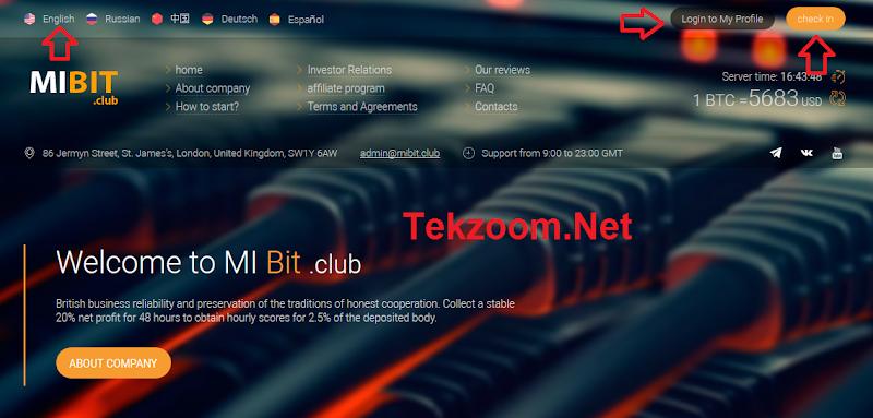 [SCAM] Review Mibit - Lãi 2.5% hằng giờ cho 28h [ROI 120%] - Đầu tư tối thiểu 1$ - Thanh toán tức thì