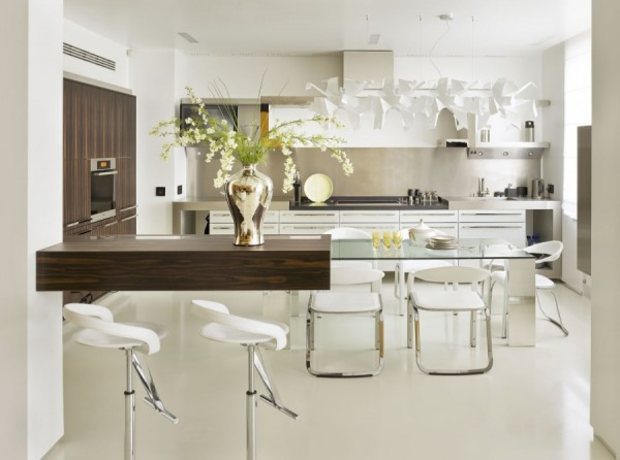 How to choose the glass table for kitchen