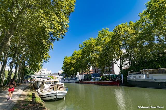 Canal du Midi - Toulouse por El Guisante Verde Project