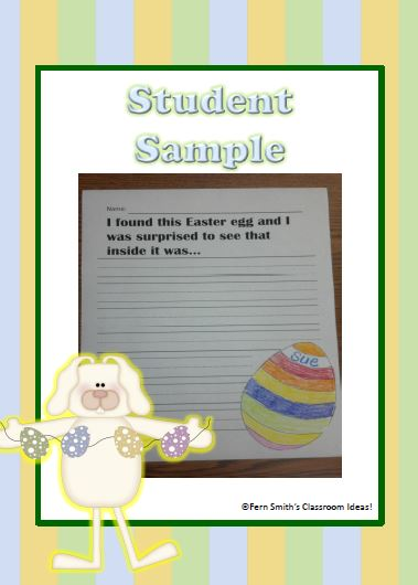 Fern Smith's Classroom Ideas Easter - Literacy Centers and Literacy Lessons resource available at her TeachersPayTeachers store.