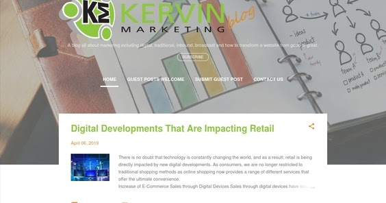 Kervin Marketing Blog