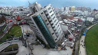 κατάρρευση 4 κτιρίων