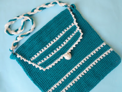 crochet-crosia-Crochet-Shoulder-Bag-purse-design-pattern-free-tutorial-picture-step by step-handmade-video