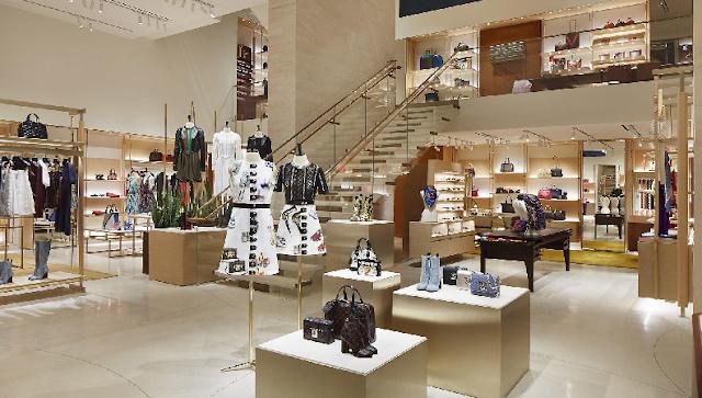 Como são as lojas Louis Vitton em Miami?