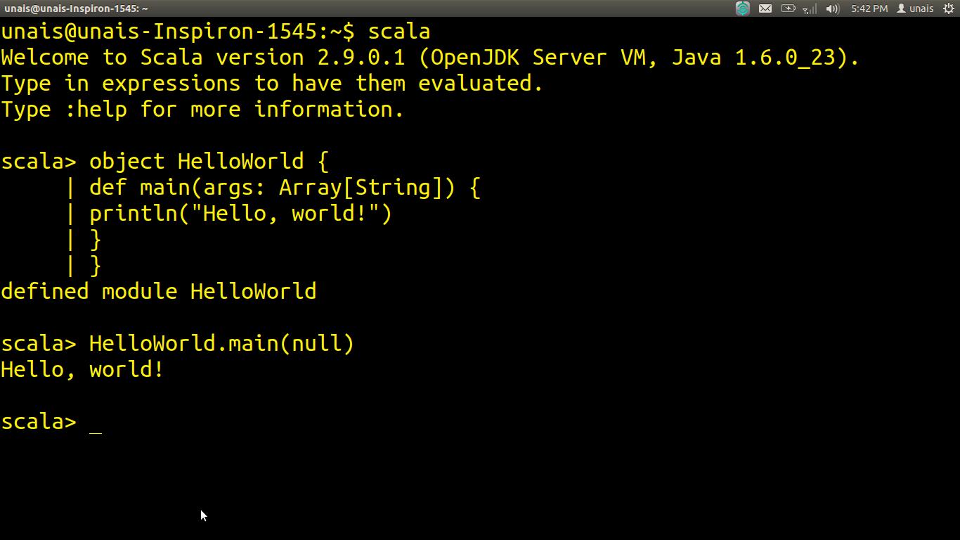 Unais's Tech Blog: The Scala Programming Language