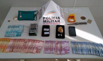 PM realiza Operação apreende droga e prende autores de tráfico em Três Corações - Foto: PM