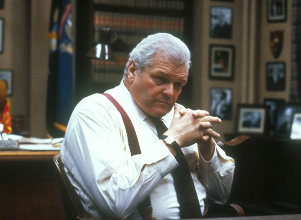 Rusty Alone Would Have Been Great Drama, But Heu0027s Just The Beginning.  Conflicting With Rusty, You Have Rustyu0027s Boss Raymond Horgan (Brian  Dennehy).  Presumed Innocent Movie Cast