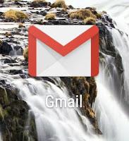 Aplicativo do GMAIL no celular
