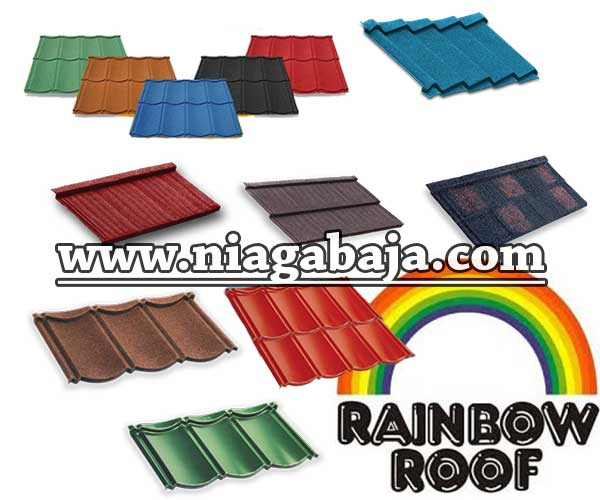 Harga Genteng Metal Rainbow Roof 2019