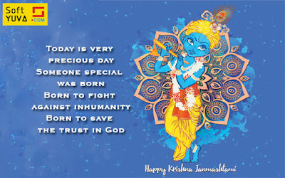 happy janmashtami wishes, status in english