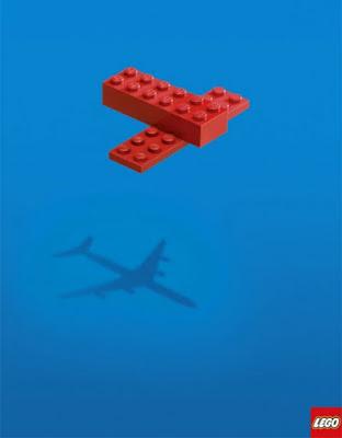 Green Pear Diaries, publicidad creativa, minimalista, Lego
