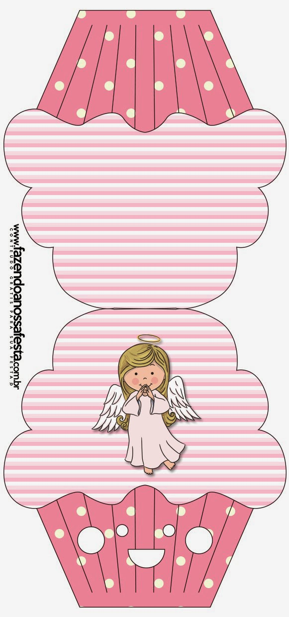 Angel Girl Free Printable Invitations Cards And Photo