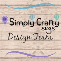 Proudly design for Simply Crafty SVG's