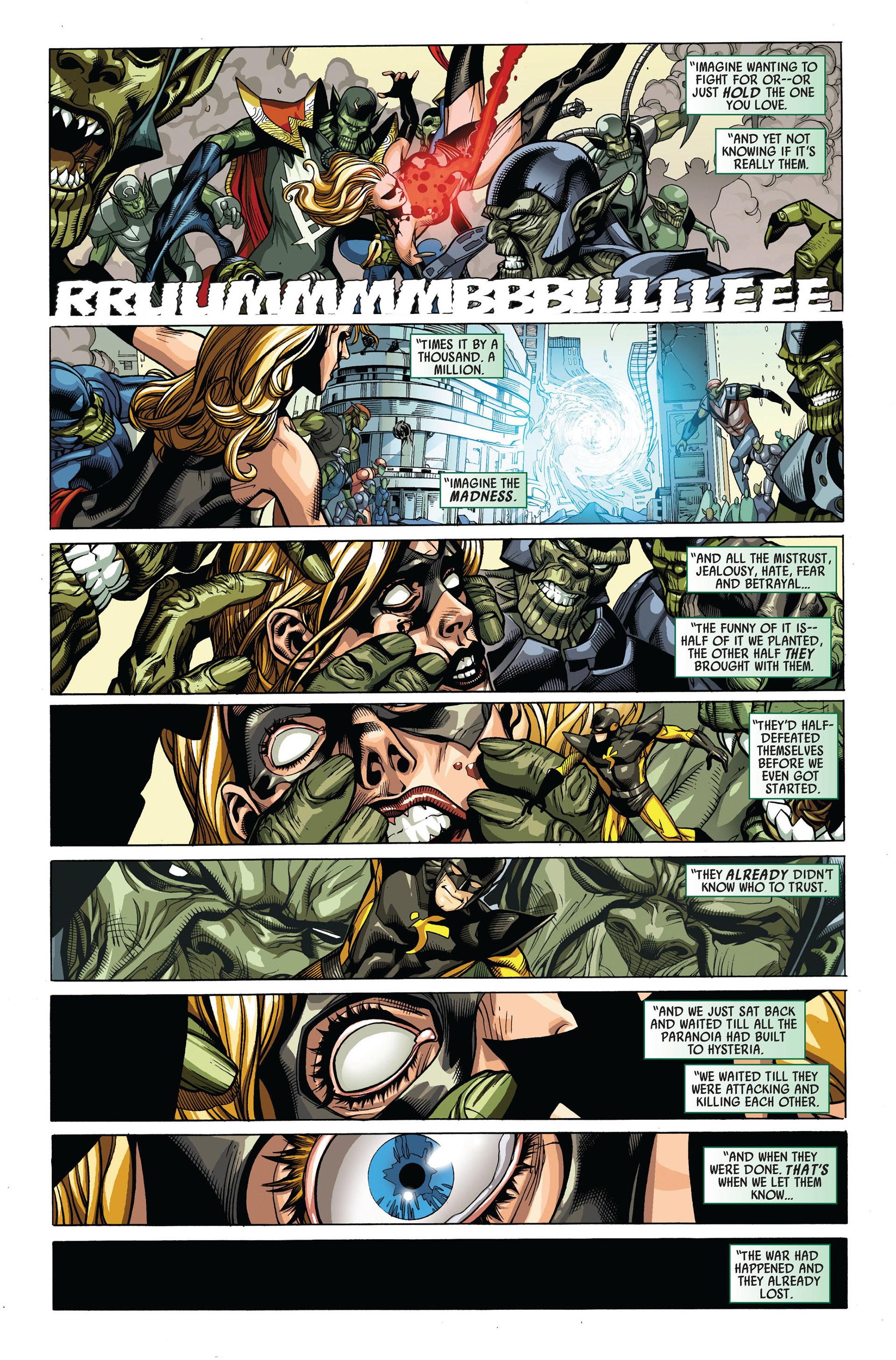 Read online Secret Invasion comic -  Issue #4 - 10