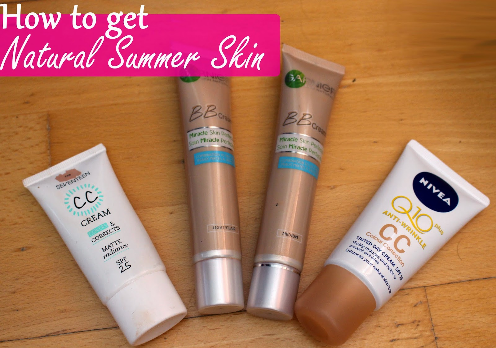 natural summer skin makeup blog tips