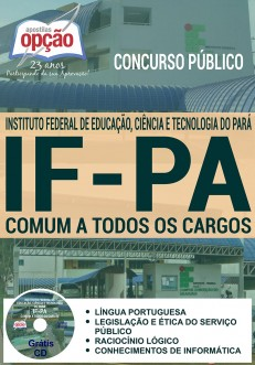 Apostila para o concurso do Instituto Federal do Pará - IFPA