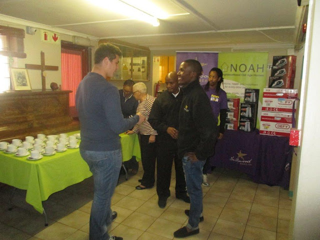 Hollywoodbets Woodstock - NOAH - Neighbourhood Old Aged Homes (Woodstock) - CSI - Giving Back