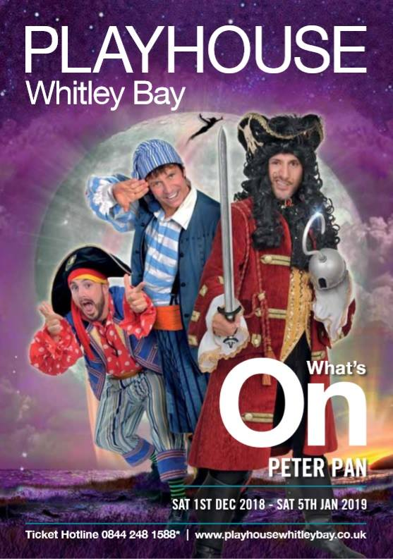 Review & Top Tips | Playhouse Whitley Bay Panto 2018  - Peter Pan