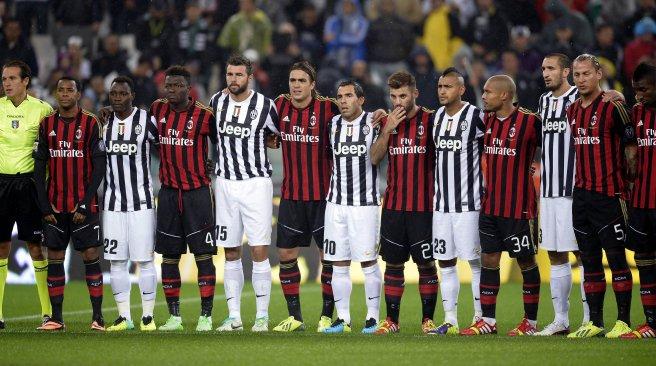 Resultado de imagen para Milán - Juventus