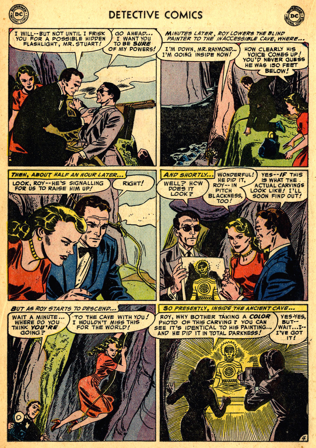 Read online Detective Comics (1937) comic -  Issue #205 - 20
