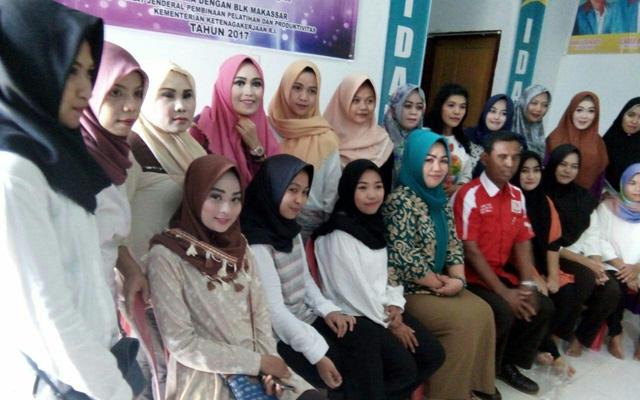 TIM Monitoring BLK Makassar Apresiasi LPK Ungu Sinjai