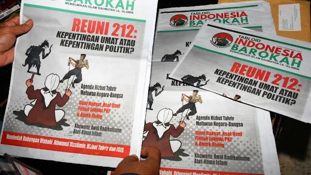 Jokowi Mencari Tabloid Kontroversial 'Indonesia Barokah'