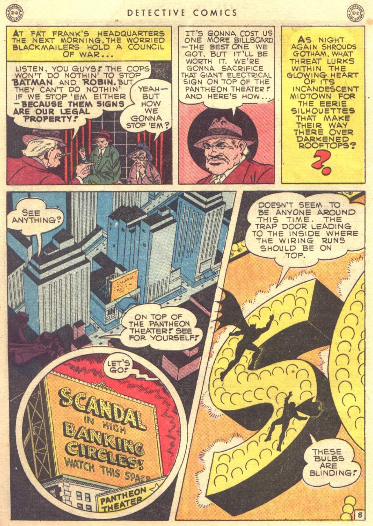 Read online Detective Comics (1937) comic -  Issue #104 - 10