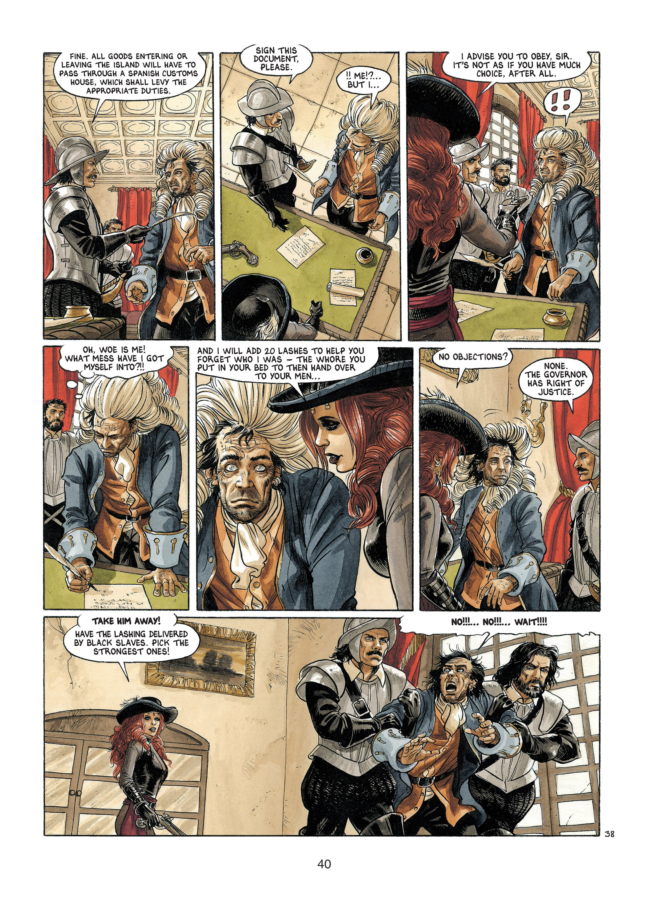 Read online Barracuda comic -  Issue #4 - 41