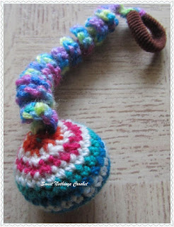 free crochet amigurumi, free crochet bouncy toy