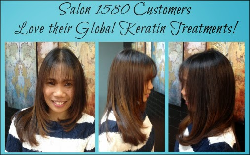 Award-winning GKhair hair-taming treatments are available at Salon 1580