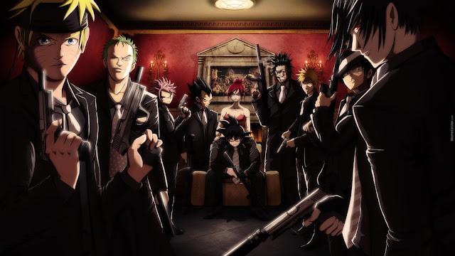 Anime Bertema Mafia Terbaik