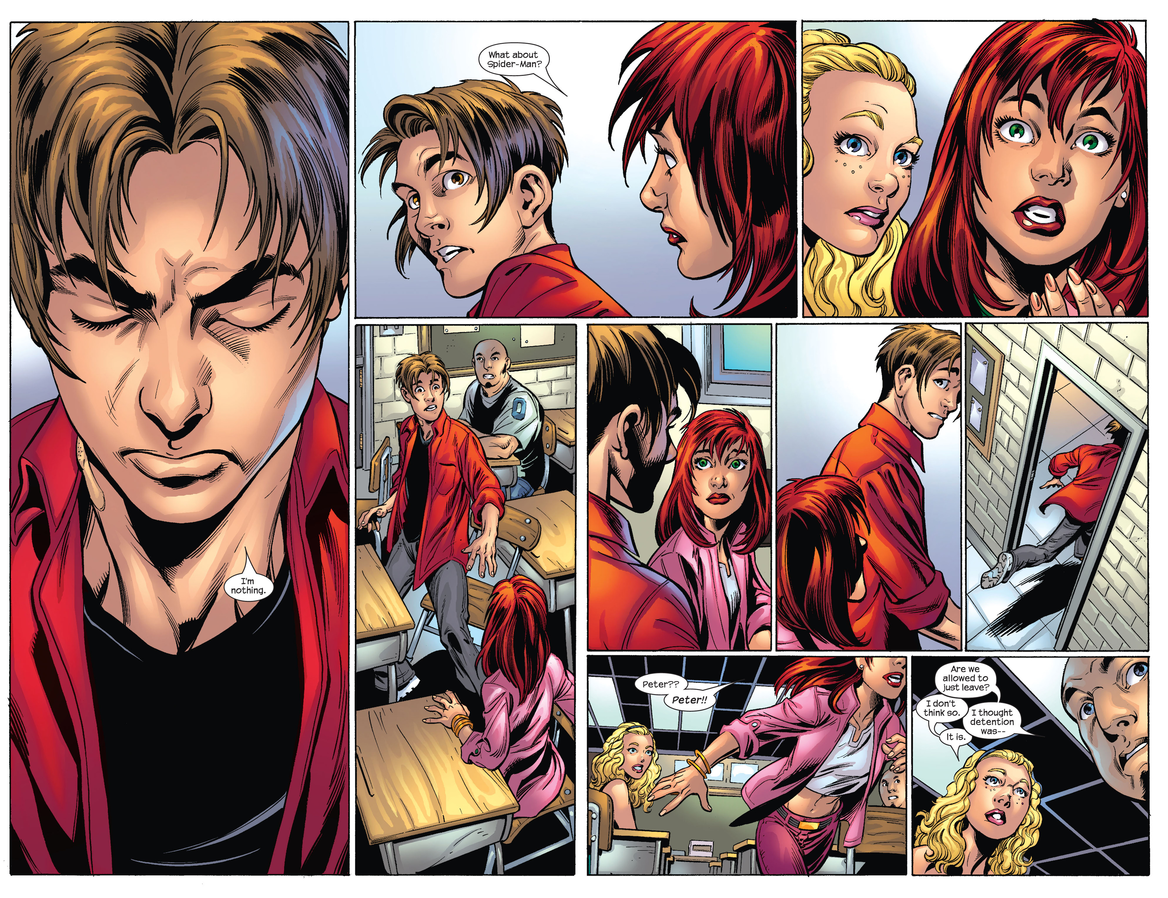 Read online Ultimate Spider-Man (2000) comic -  Issue #65 - 13