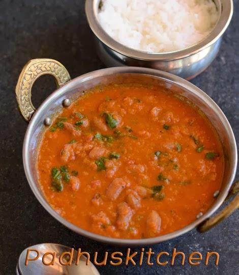 Rajma masala-Punjabi Rajma masala