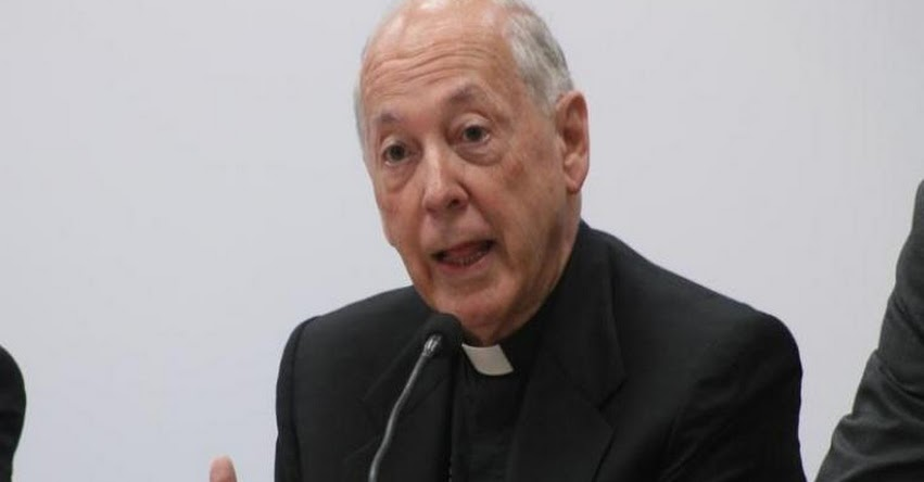 Audios del escándalo «Son como un chantaje», según el Cardenal Juán Luís Cipriani
