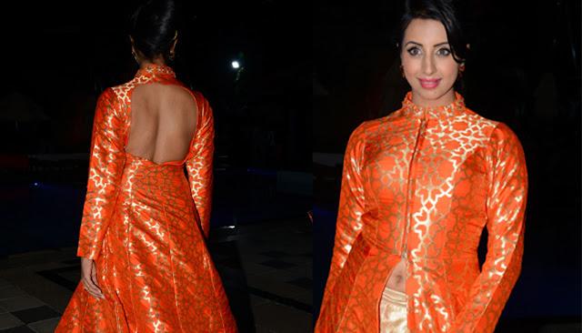Sanjana Photos at Wedding Vows Fashion Show