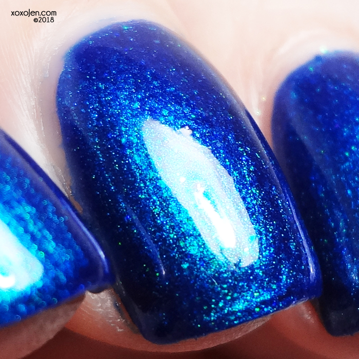 xoxoJen's swatch of Colors By Llarowe Moonlight on the Water