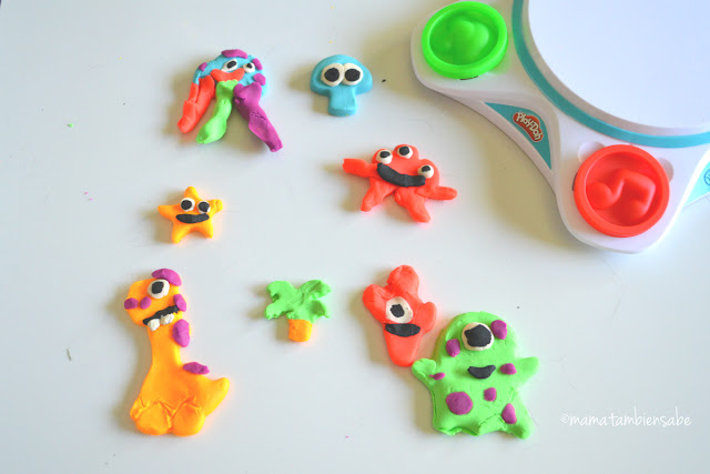 PlayDoh Touch creaciones alternas