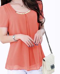 skinny indonesia atasan warna orange