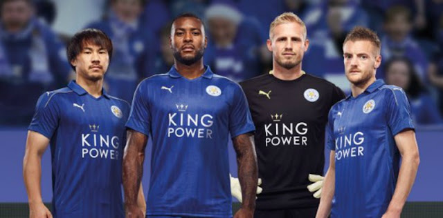 Camisa do Leicester para a temporada 2016/17