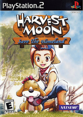 Harvest Moon: Save the Homeland PS2 GAME ISO