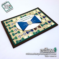 Stampin' Up! Truly Tailored SU Card Ideas order craft supplies from Mitosu Crafts UK Online Shop