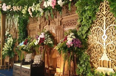 dekorasi pernikahan jawa terbaru