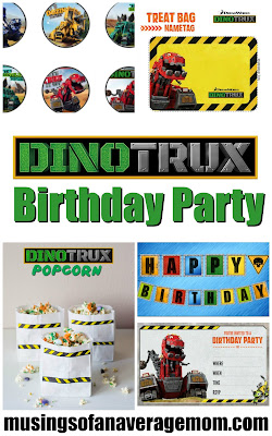 Dinotrux birthday party