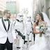 Simpatica boda al estilo Star Wars.