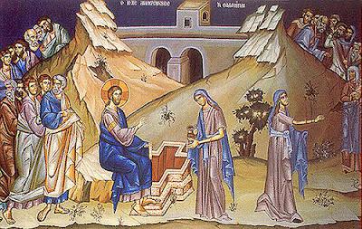 Αποτέλεσμα εικόνας για αγία φωτεινή η μεγαλομάρτυσ η σαμαρείτιδα