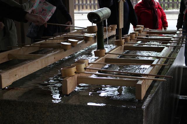 Le rituel de purification au Meiji-gu - voyage au Japon