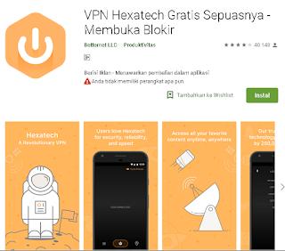 Ulasan VPN Hexatech Gratis Sepuasnya - Membuka Blokir
