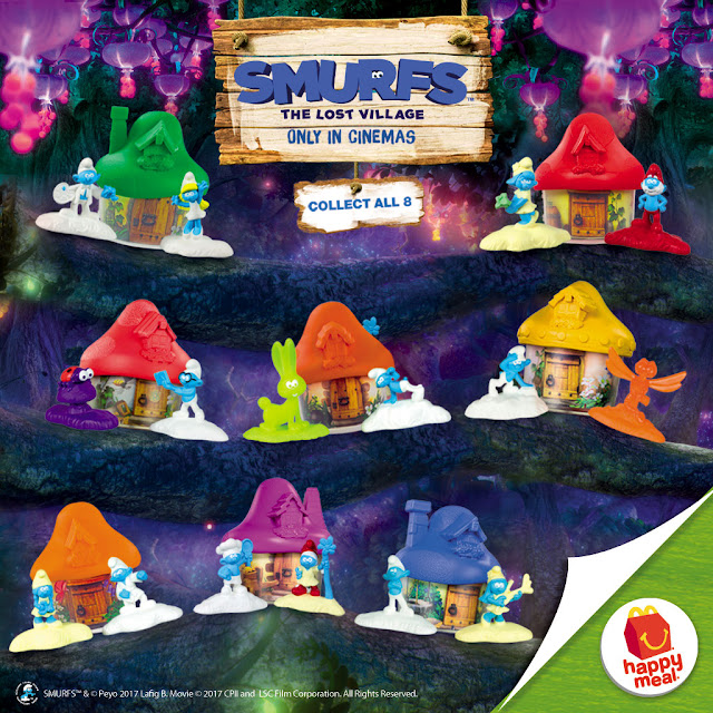 McDo Happy Meal, Smurf