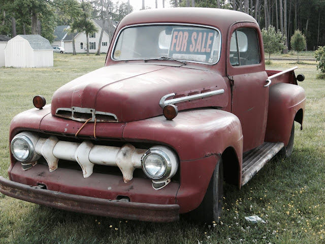 Old pickup for sale. Meanest Mom marchmatron.com 2